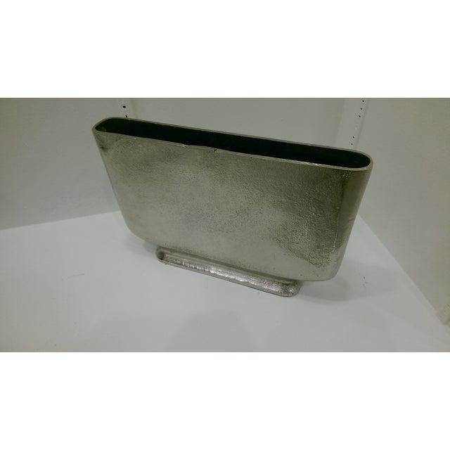 Rectangular Vase - Alloy - Image 2 of 2