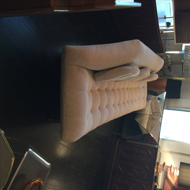 Adrian Pearsall Tufted Gondola Sofa - Image 7 of 8