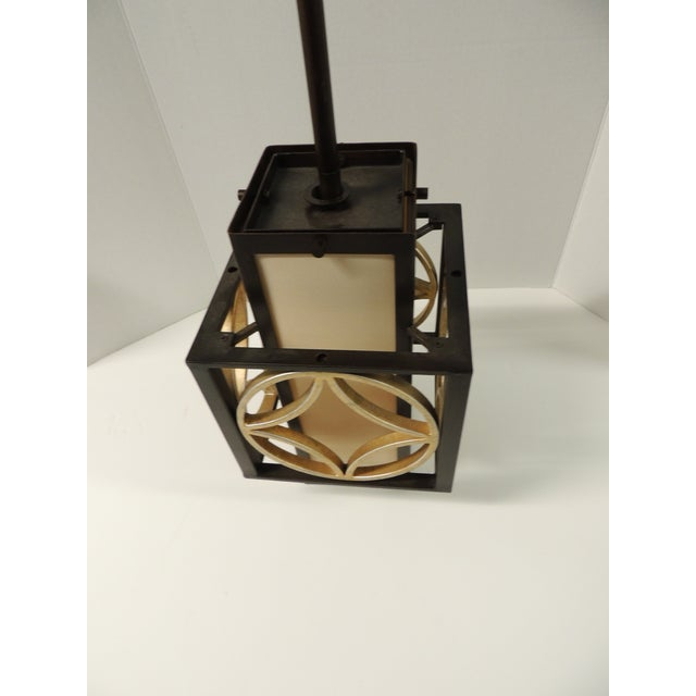 Formation Style Square Hanging Lantern - Image 3 of 5