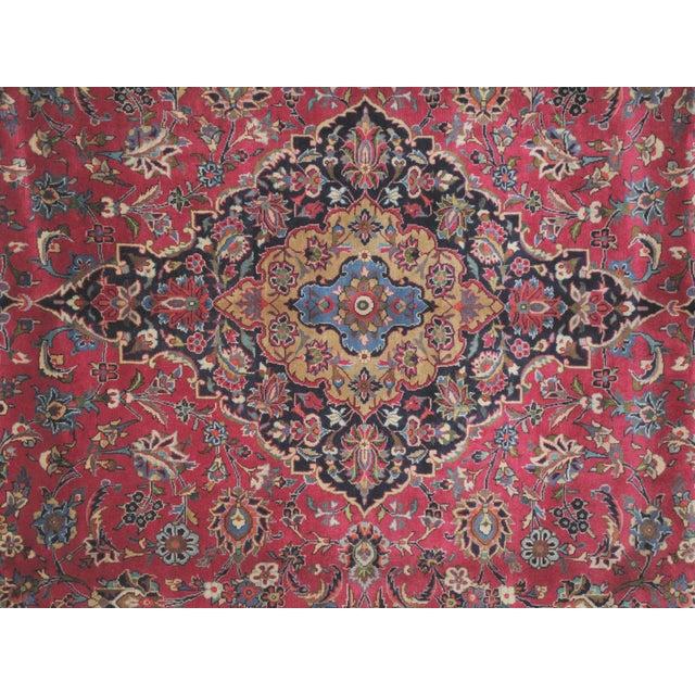 "Leon Banilivi Persian Mashad Carpet - 9'10"" X 13'2"" - Image 5 of 6"