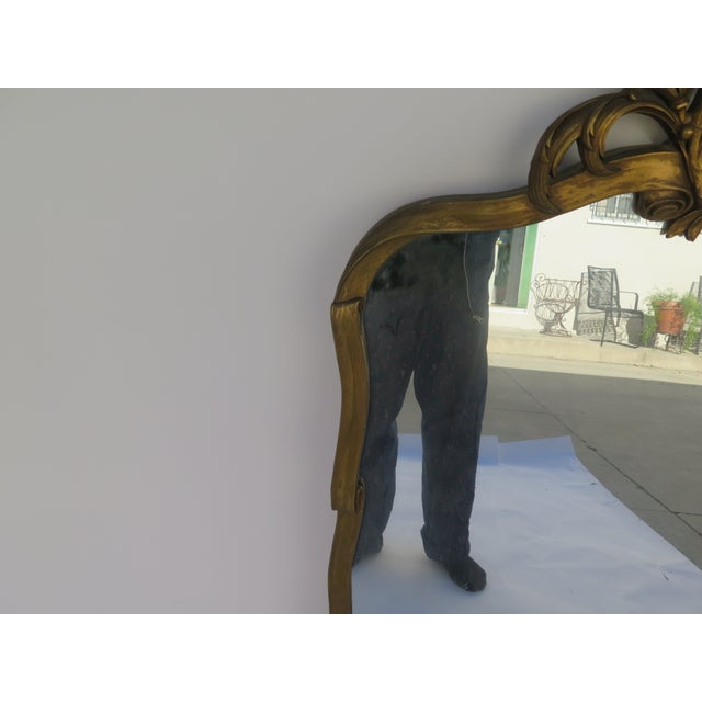 Image of Antique Hand Carved Italian Mirror