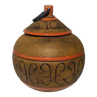 Italian Terracotta Pot With Lid