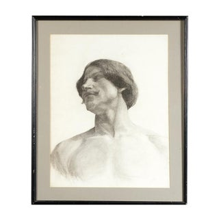 Framed Life Study of Male Torso