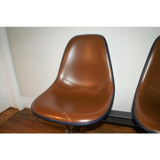 Vintage Eames Tandem Bench Chair - Image 4 of 11