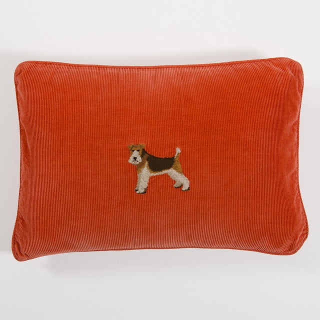 Vintage Ralph Lauren Corduroy Throw Pillow Chairish