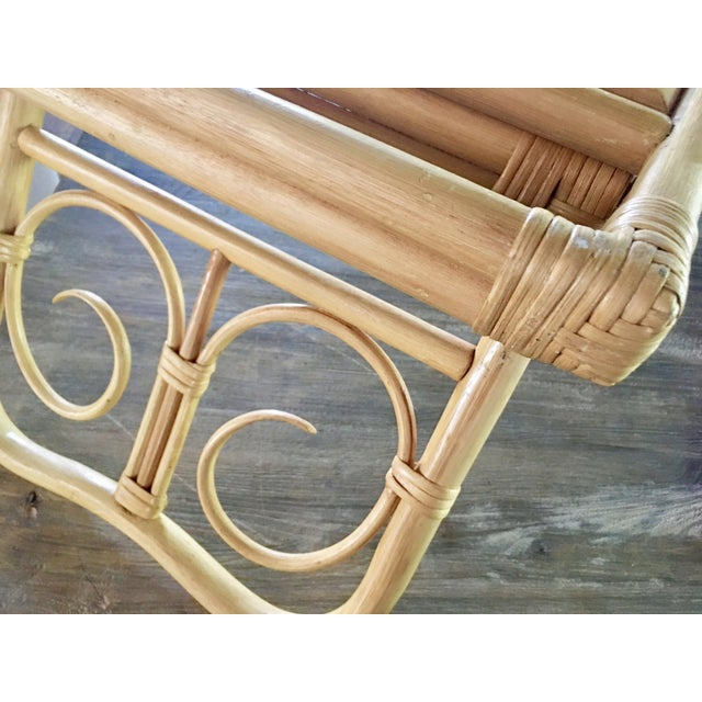 Mid-Century Breakfast in Bed Bamboo Tray - Image 6 of 8