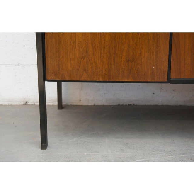 Rosewood Steel Office Credenza - Image 10 of 11