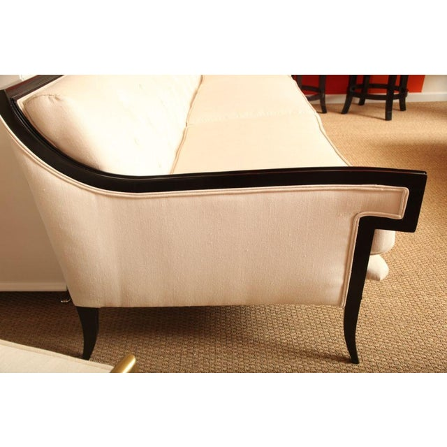 Elegant and Unusual Moderne Sofa - Image 4 of 7