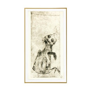 French Fine Art Etching - Le Poussin