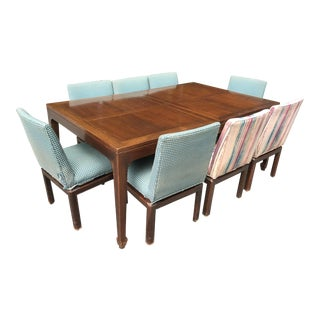 Baker Furniture Michael Taylor Far East Collection Dining Set