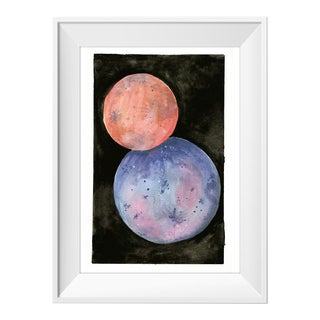 Two Moons Original Painting