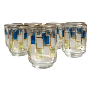 Geometric Hostess Glasses - Set of 6