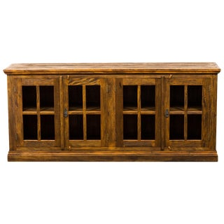 Reclaimed Wood French Casement Sideboard