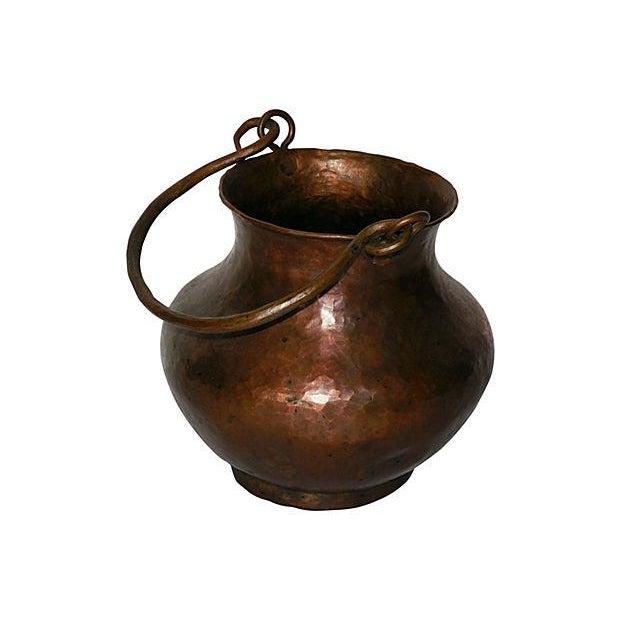 Hand Hammered Copper Vessel - Image 3 of 4