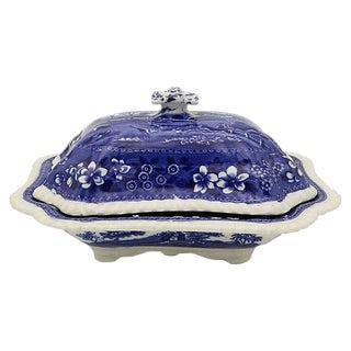 Antique Spode Tower Covered Dish
