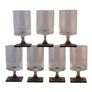 Vintage Rosenthal Footed Juice Glasses - Set of 7