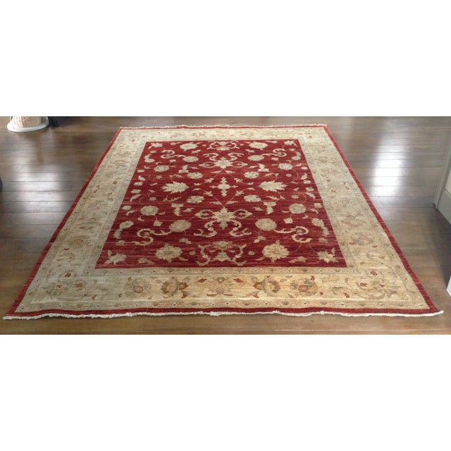 Hand-Knotted Oriental Wool Rug - 8'x10' - Image 2 of 8