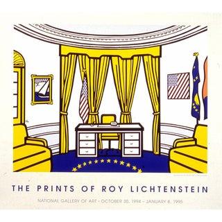 Roy Lichtenstein The Oval Office Serigraph