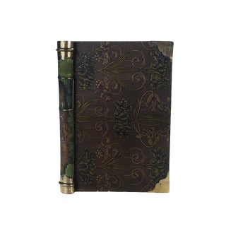 18th C. French Rococo Embossed Leather Portfolio