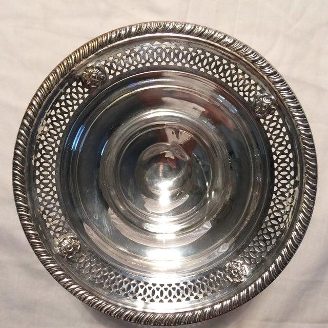 Vintage Sterling Silver Pedestal Dish - Image 8 of 10