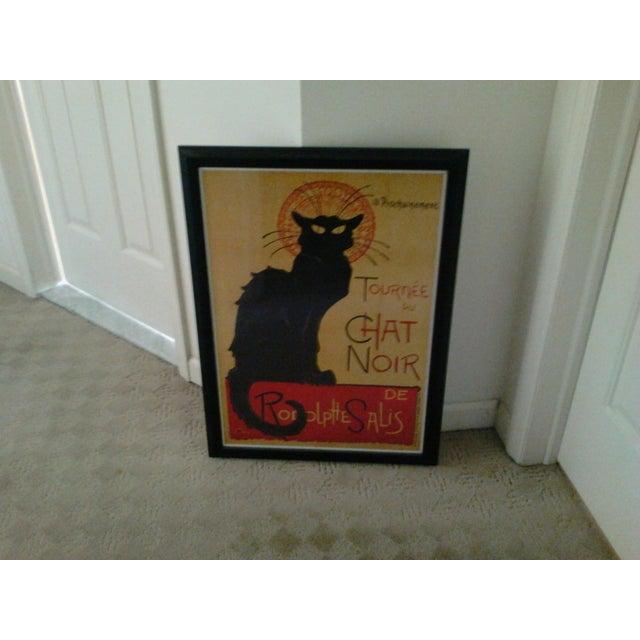 """""""Tournee Du Chat Noir"""", Framed Poster - Image 5 of 6"""