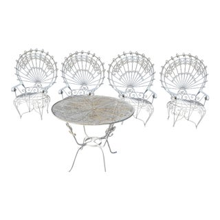 Victoria Outdoor Patio Garden Set - Set of 5