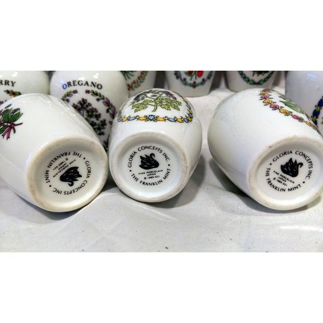 Franklin Mint Spice Jars - Set of 23 - Image 11 of 11