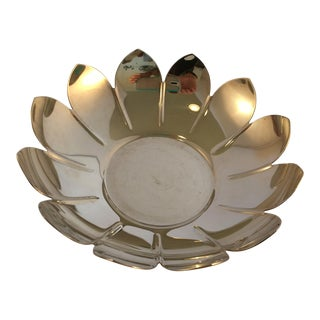 "Reed & Barton Silver Plated ""Lotus"" Bowl"