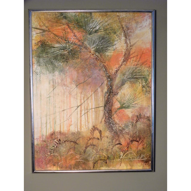 Image of Mid-Century Original Painting by Lee Reynolds