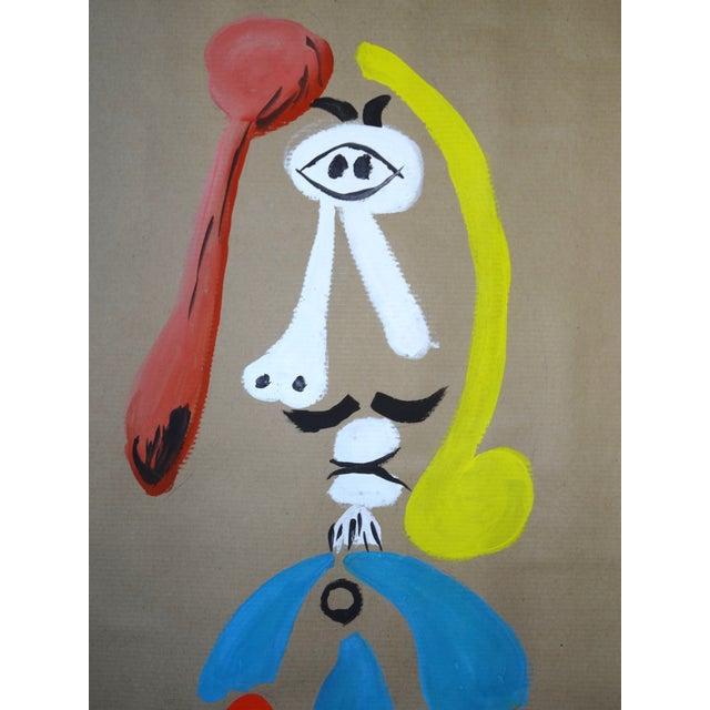 Image of Trio of Surrealism Paintings