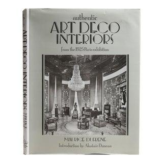 Authentic Art Deco Interiors Book