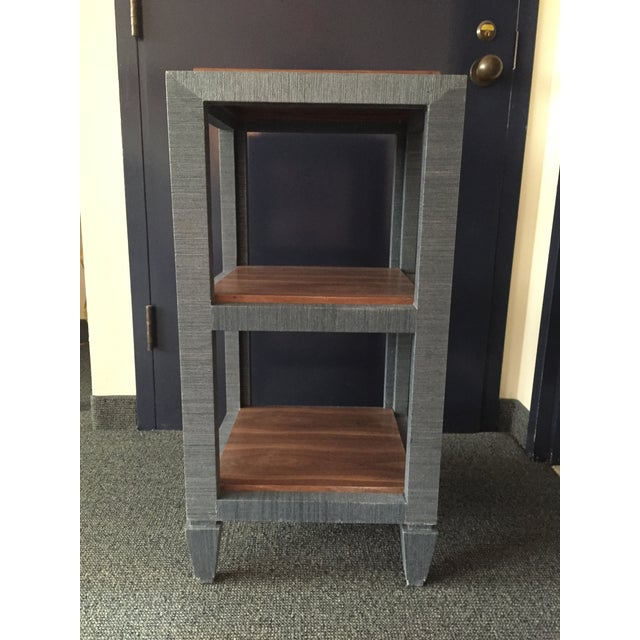 Bungalow 5 Grasscloth Side Table - Image 2 of 7