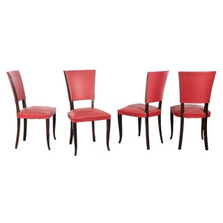Art Deco Style Chairs - Set of 4