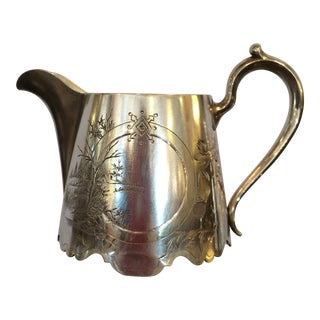 Antique Russian Silver Cream Pitcher