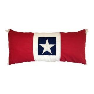 Handmade American Flag Pillow