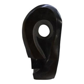 Monumental Pablo Picasso Style Spring Stone Sculpture