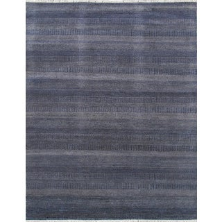 "Pasargad Transitiona Blue Area Rug - 9' 1"" X 12' 2"""