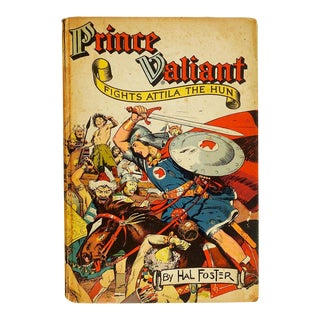 """Prince Valiant Fights Attila the Hun"" 1952 Graphic Novel"