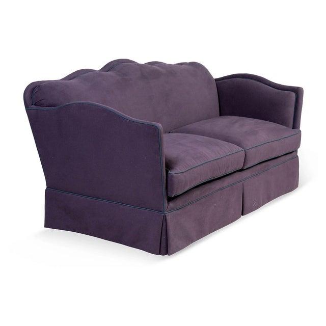 Aubergine Knole-Style Sofa - Image 4 of 6