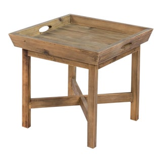 Sarreid Ltd. Pine Tray Table