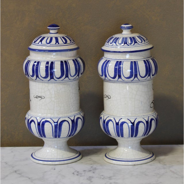 Vintage Italian Apothecary Jars - A Pair - Image 5 of 8