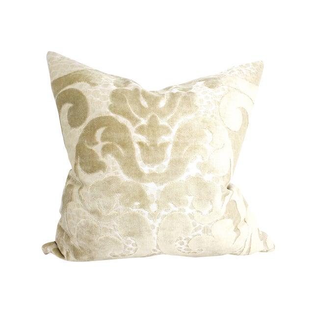 Cut Velvet Damask Pillow - Image 1 of 4