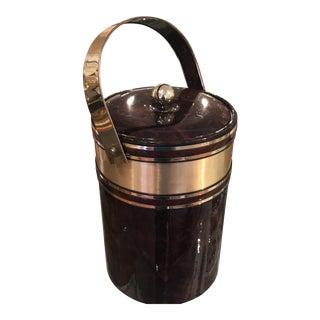 Vintage Gold Ice Bucket