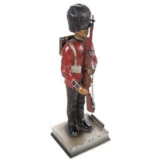 Vintage British Guard Lead Figurine Lighter