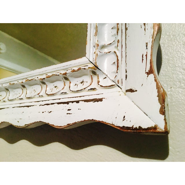 Vintage Bassett Shabby Chic Mirror - Image 6 of 7