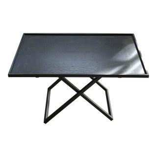 Armani Casa Folding Wood Side Table