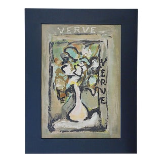 Vintage French Roualt Lithograph
