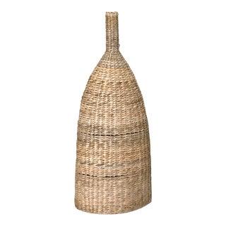 Large Handmade Woven Decorative Vase
