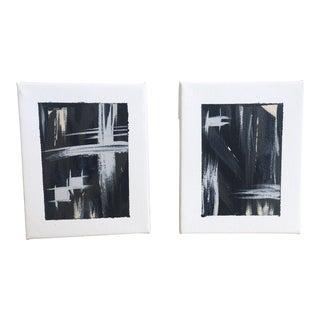"""""""Sonorous"""" No. 1 & No. 2 Original Paintings - Pair"""
