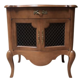 Vintage French Country Nightstand